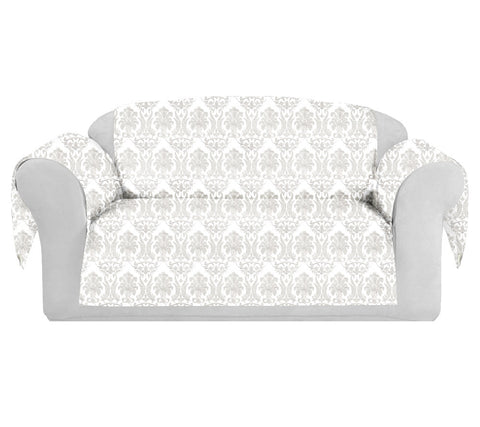 RichCotton Decorative Sofa / Couch Covers Collection White.