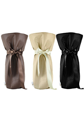 ESPRESSO Collection Wine/ Champagne Gift Bag One Size 3/Pack