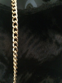 French Velour Top & Chain Straps SOLD OUT - FashionHomeGift