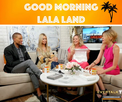 Madison and White on Good Morning Lala Land