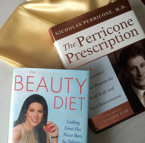 Lisa Drayer and Dr. Perricone Books