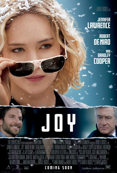 Joy with Jennifer Lawrence and Bradley Cooper