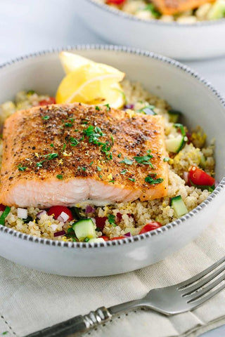 Healthy Salmon and Quinoa Recipe