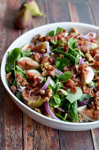 Walnut & Fig Salad