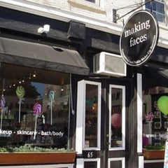 Madison and White retail locations at Making Faces Boutique