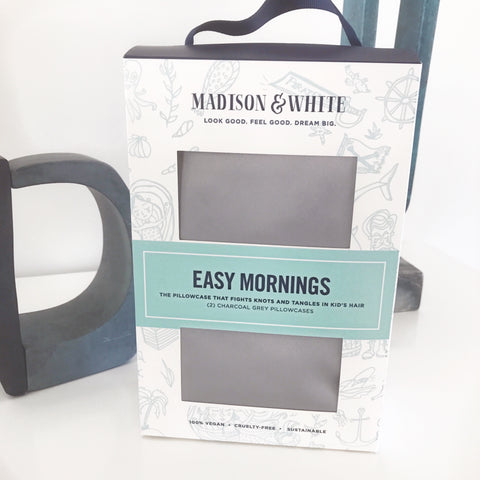 Easy Mornings in Charcoal Grey {Made for Kids}