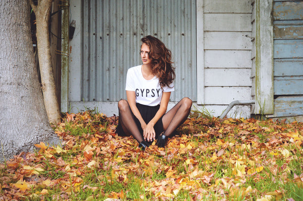 Gypsy Letter Ladies Tee