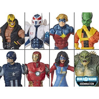 Avengers (Marvel Legends) Wave 1 - Set of 7 Figures (Abomination BAF)
