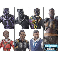 Black Panther (Marvel Legends) Wave 2 - 8 Figures (M'Baku BAF)