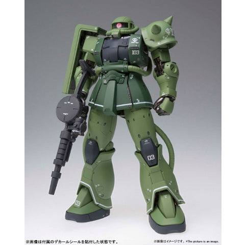 MS Gundam The Origin: MS-06C Zaku II Type C GFFMC Action Figure by Bandai Tamashii Nations