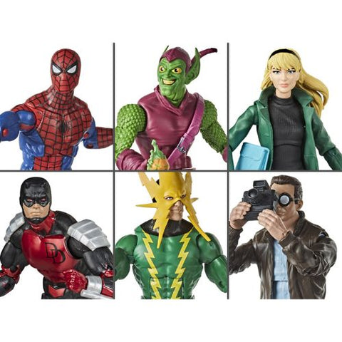 Spider-man (Retro Collection) Wave 1 - 6 Figure Set