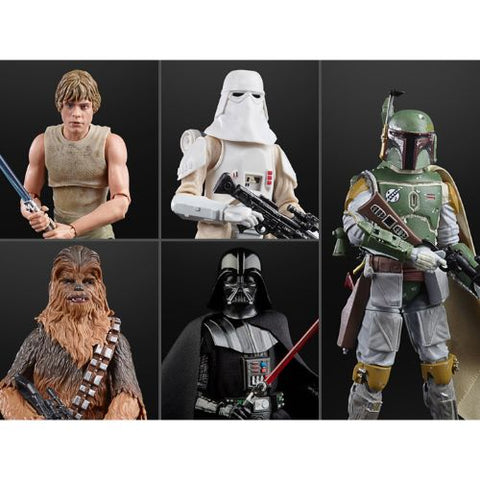 Star Wars 40th Anniversary (Black Series) Wave 36 - Set of 5 Figures