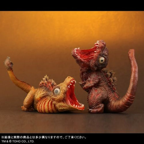 Shin Godzilla - 2nd & 3rd Forms (Deforeal series) - Clear Exclusive