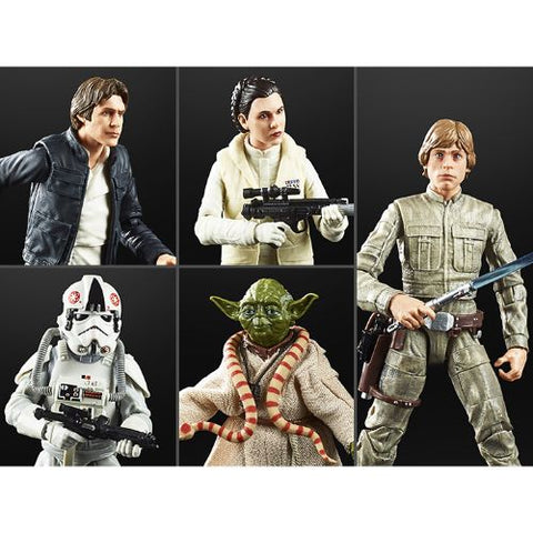 Star Wars 40th Anniversary (Black Series) Wave 27 - Set of 5 Figures