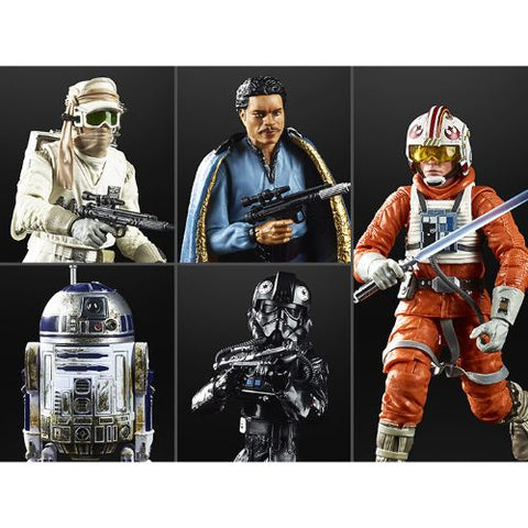 Star Wars 40th Anniversary (Black Series) Wave 28 - Set of 5 Figures