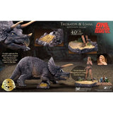One Million Years B.C. Triceratops & Loana Set (32cm, 12-inch series, Star Ace Toys)