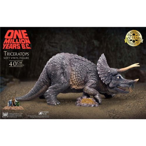 One Million Years B.C. Triceratops (32cm, 12-inch series, Star Ace Toys)