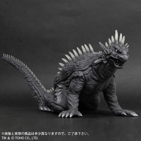 Varan (Large Monster Series) - Monochrome, Crawling Version - Ric-Boy Exclusive