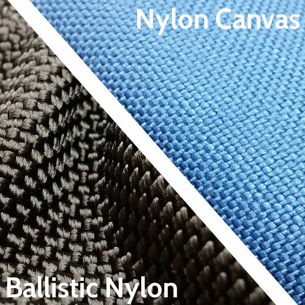 Ballistic Nylon vs. Nylon Canvas Headcovers, What's the Difference?