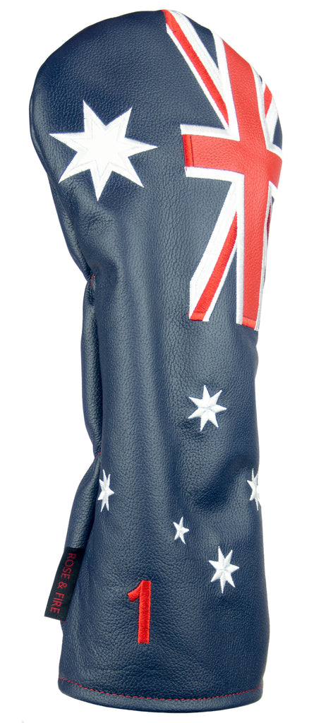 """Down Under Australia"" Premium Leather Headcovers(PRE ORDER)"