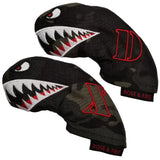 """Bomber/Warhawk"" Driving Iron Covers (set of 2)"
