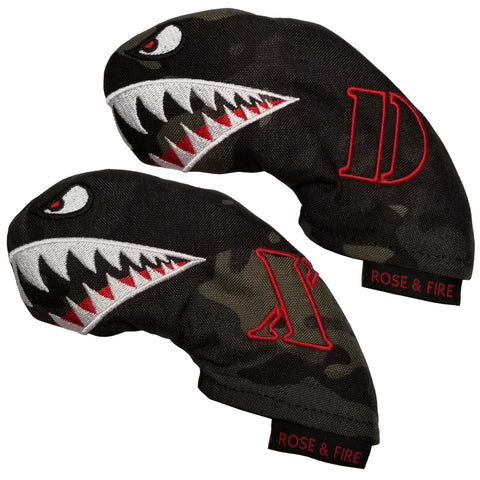 """Bomber/Warhawk"" Driving Iron Covers (set of 2) IN STOCK"