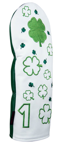 """Dancing Clovers"" Premium USA Leather Headcovers (PRE-ORDER)"