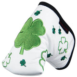 """Dancing Clovers"" Premium USA Leather Headcovers(PRE-ORDER)"