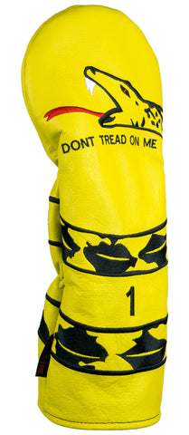 """DONT TREAD ON ME"" Premium USA Leather Headcovers(PRE ORDER)"