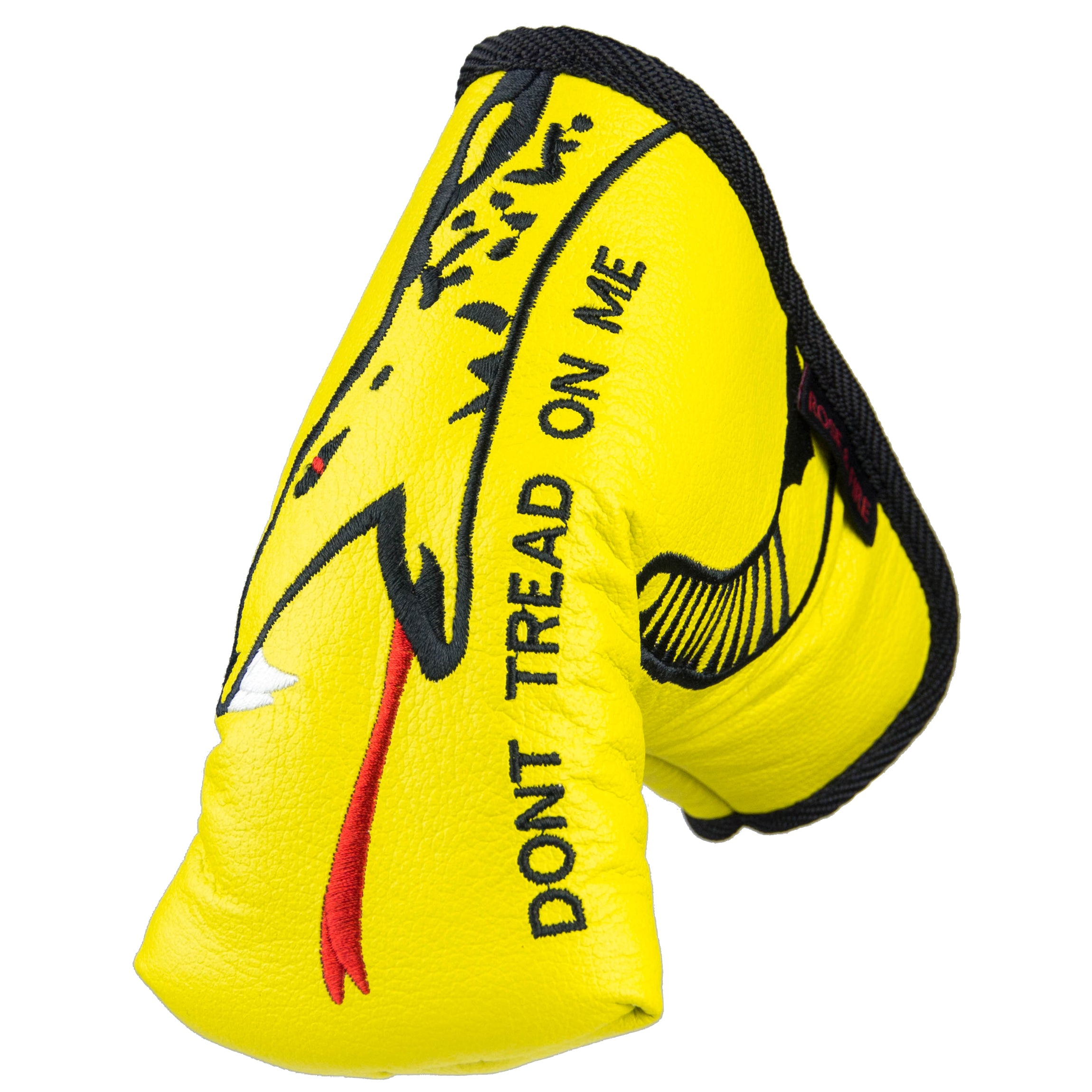 dont tread on me premium usa leather standard putter cover rose