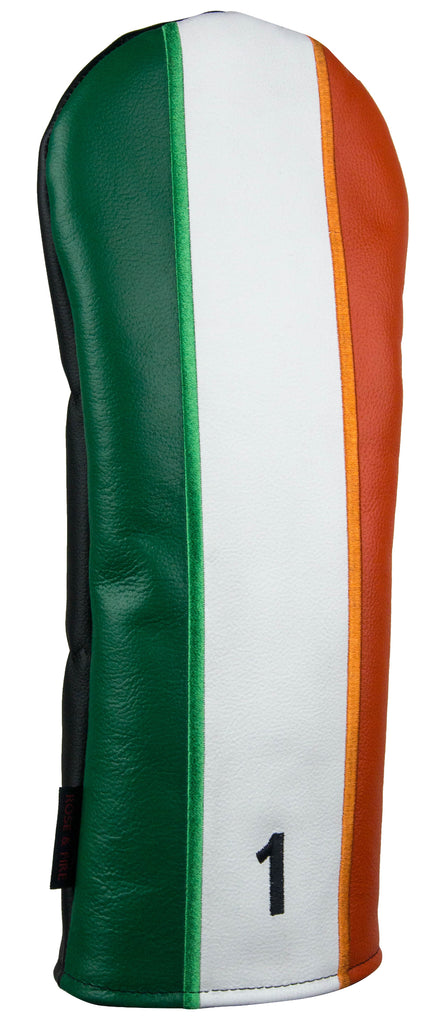 """Irish Flag"" Premium Genuine Leather Headcovers (PRE-ORDER)"