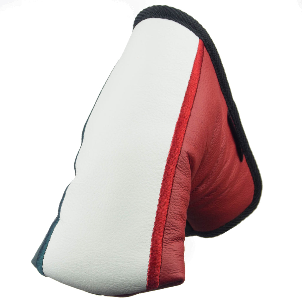 """Italian Flag"" Premium Genuine Leather Standard Putter Cover (LIMITED AVAILABILITY PRE-ORDER)"