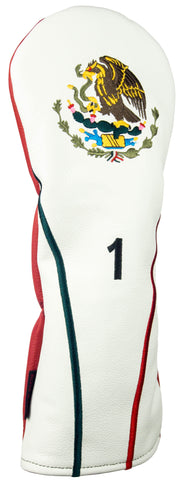 """Mexico"" Premium USA Leather Headcovers (PRE ORDER)"