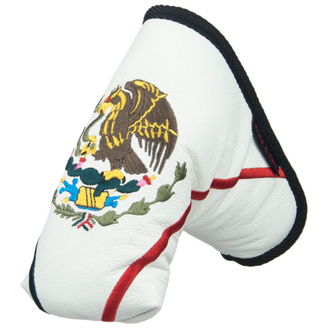 """Mexico"" Premium USA Leather Standard Putter Cover(PRE ORDER)"