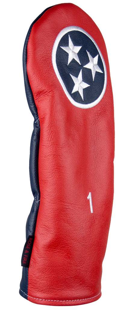 """Tri-Star Tennessee"" Premium USA Leather Headcovers (PRE-ORDER)"