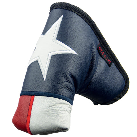 """Lone Star"" Texas Premium USA Leather Putter Cover(PRE-ORDER)"