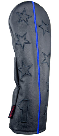 """Thin Blue Line"" Premium USA Leather Headcovers (PRE-ORDER)"