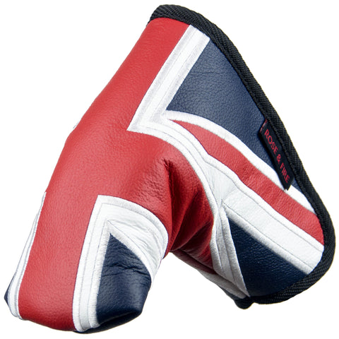 """Union Jack"" UK Flag Premium Leather Standard Putter Cover (PRE-ORDER)"