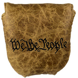 """We the People"" Distressed Genuine Leather Headcovers (PRE-ORDER)"