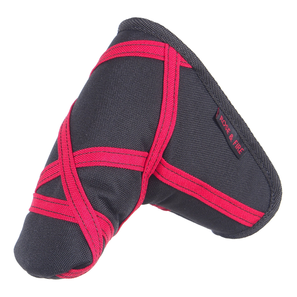 "Black with Red ""Crazy Stripes"" Cordura Putter Cover"