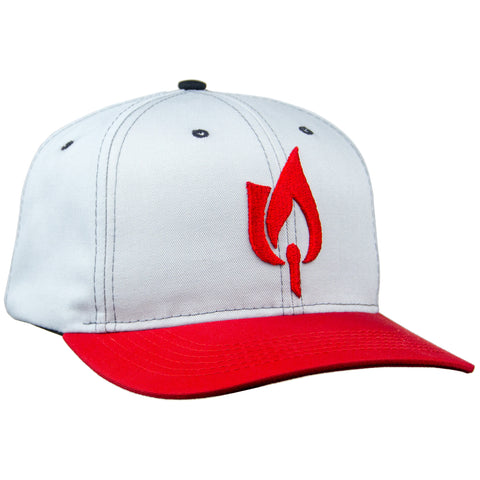 "Limited Edition ""First Run"" MADE IN USA Snapback Rose & Fire Hat (PRE-ORDER)"