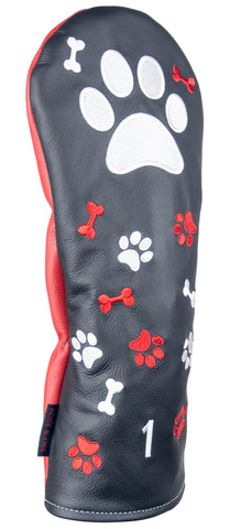 """Pawesome Big Dog"" Premium USA Leather Headcovers (PRE ORDER)"