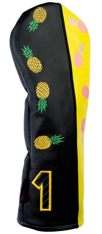 """Pineapple Express"" Premium USA Leather Headcovers(PRE ORDER)"