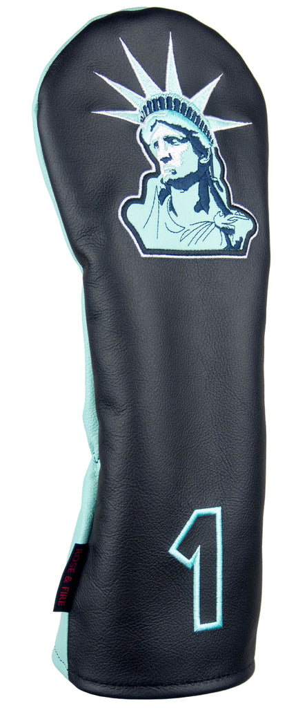 """Lady Liberty"" Premium USA Leather Headcovers (LIMITED AMOUNT AVAILABLE)"