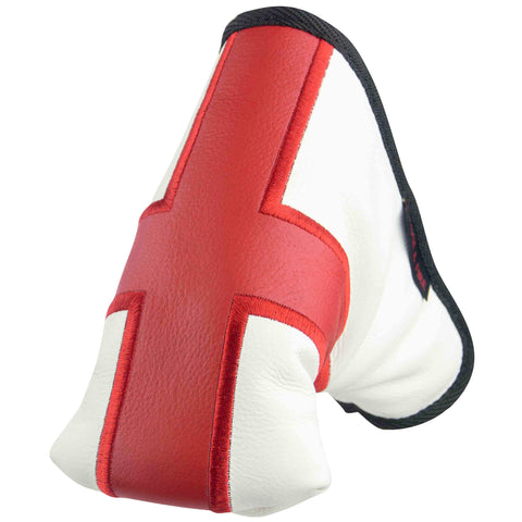 """St. George's Cross"" English Flag Premium Leather Standard Putter Cover (LIMITED EDITION PRE-ORDER)"