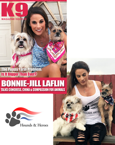 Bonnie-Jill Laflin Featured in K9 Magazine