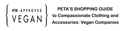 FTLA APPAREL PETA APPROVED VEGAN - MEMBER OF PETA'S GUIDE TO COMPASSIONATE FASHION