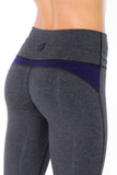 FTLA Apparel ~ For The Love of Animals Apparel:  Leggings - Bamboo Yoga Capri (No Elastic in Waistband) | Limited Edition