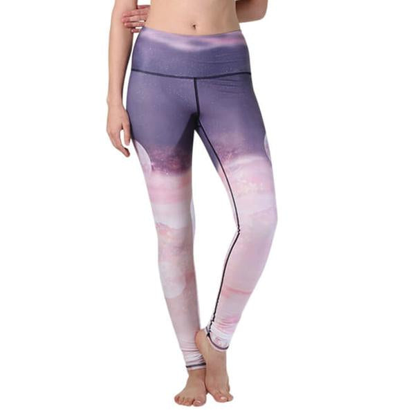 FTLA Apparel ~ For The Love of Animals Apparel:  Leggings - LUNAR THE BETTER YOGA LEGGINGS