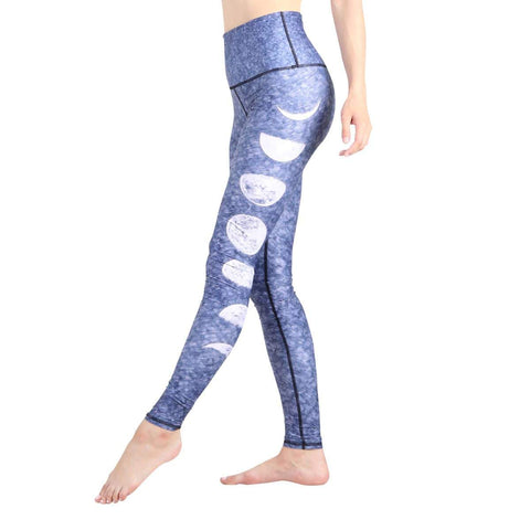 FTLA Apparel ~ For The Love of Animals Apparel:  Leggings - JUST A PHASE YOGA LEGGINGS